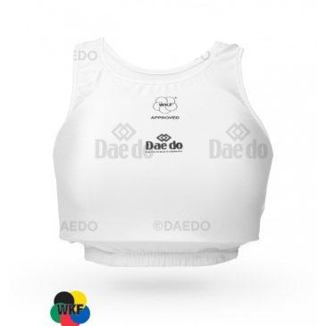 Protector de pecho femenino Daedo WKF