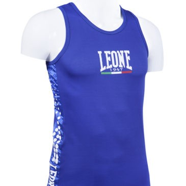 Camiseta Leone Boxeo azul