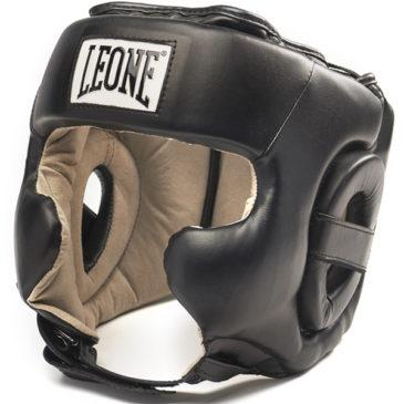 Casco de Boxeo Leone Training negro