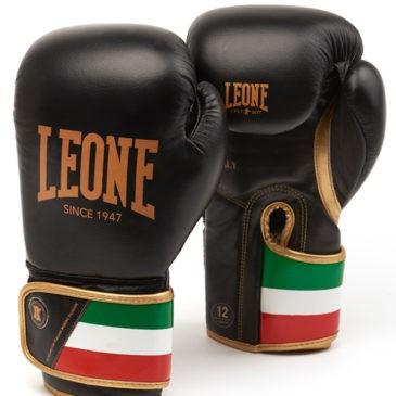 "Guantes de Boxeo Leone ""Italy"" negros"