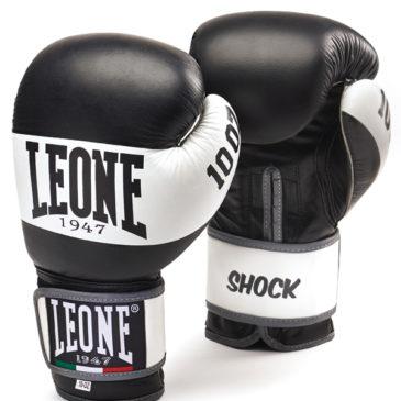 "Guantes de Boxeo Leone ""Shock"" negros"