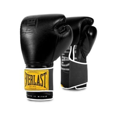 Guantes de Boxeo Everlast Classic Hook Loop negros