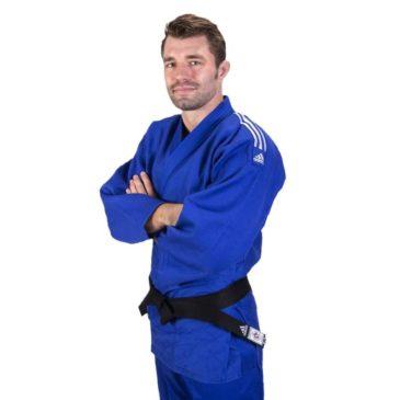 "Judogi Adidas ""Contest"" azul"