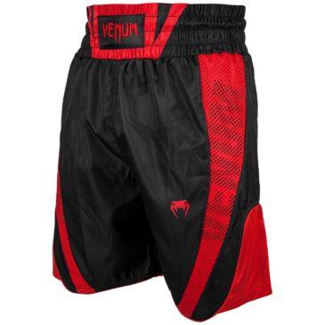 Pantalones Boxeo Venum Elite rojos