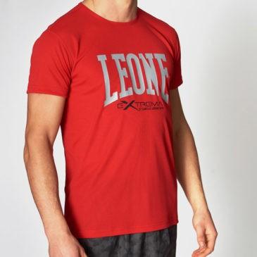 Camiseta Leone Extrema Logo roja