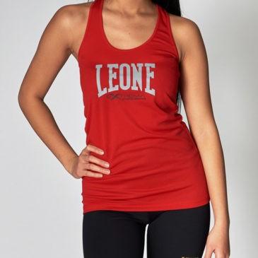 Camiseta Leone Extrema tirantes mujer roja