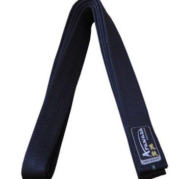 Cinturones Arawaza negro Deluxe