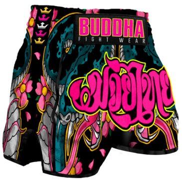 Pantalones Muay Thai Buddha Retro Cobra