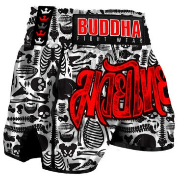 Pantalones Muay Thai Buddha Retro Skeletor