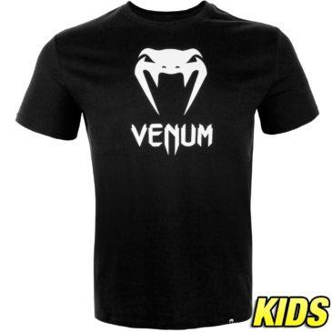 Camiseta Venum Classic Kids negra