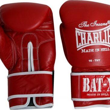 Guantes de Boxeo Charlie Bat-X rojos