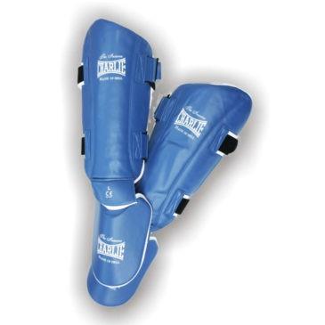 Espinilleras Charlie Fast azul