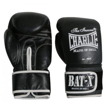 Guantes de Boxeo Charlie Bat-X negros