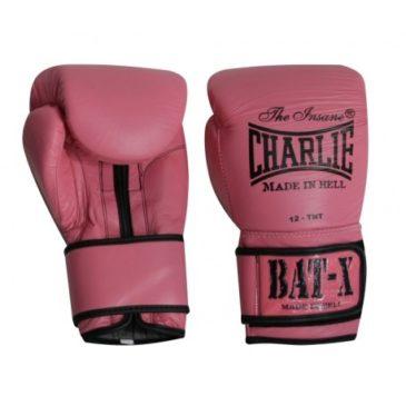 Guantes de Boxeo Charlie Bat-X rosas