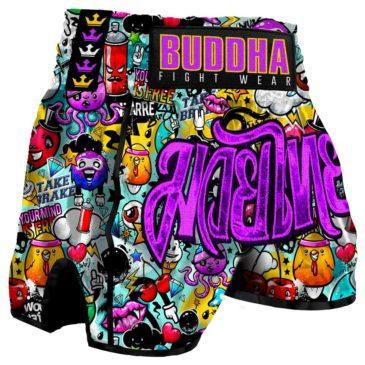 Pantalones Muay Thai Buddha Retro Zippy
