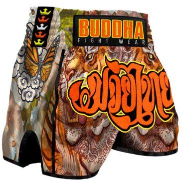 Pantalones Muay Thai Buddha Retro Tiger