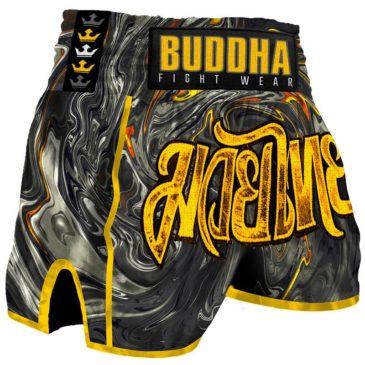 Pantalones Muay Thai Buddha Retro Turbulence
