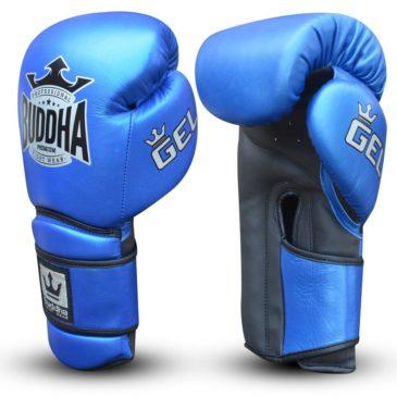 "Guantes de Boxeo Buddha ""Pro Gel"" azul"