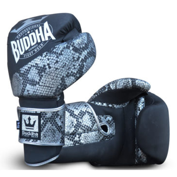 Guantes de Boxeo Buddha Combo plata